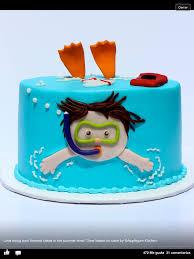 kindertorte schwimmer kuchen torten pinterest note cake