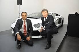 lamborghini ceo stephan winkelmann daily cars lamborghini launch of second dealership in india