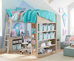 Space Saving Bedroom Ideas For Teenagers by Pb Teen Maison Canopy Bed Copycatchic Within Pb Teen Bedrooms
