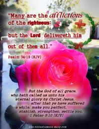 bible students daily be faithful unto and i will give