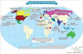 festivals celebrated around the world our world