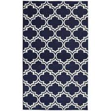 5 X 7 Area Rug Trellis Blue 5 X 7 Area Rugs Rugs The Home Depot