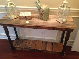 Wood Entry Table Amazing Wood Entry Table With Entry Table Made From Reclaimed