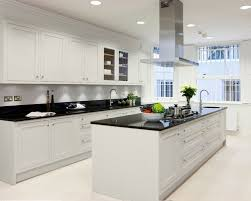 White Kitchen Cabinets With Black Granite Kitchen Ideas White Cabinets Black Countertop New In Great Prissy