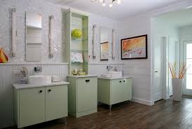 green and white bathroom ideas refreshing bathrooms with a splash of green