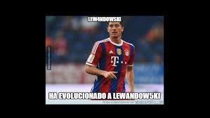Lewandowski Memes - bayern munich memes goleada wolfsburgo robert lewandowski