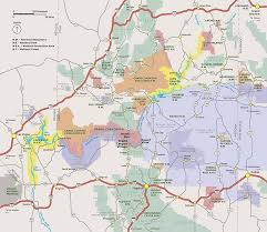 Map Of Arizona Cities by Directions And Transportation Grand Canyon National Park U S