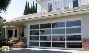 Glass Front House Custom Exterior Front Glass Doors For Home Garage Doors Orange