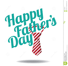 happy fathers day tie design eps 10 vector stock vector image