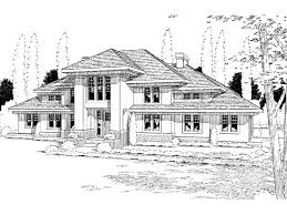 contemporary prairie style house plans thorncrest prairie style home plan 038d 0505 house plans and more
