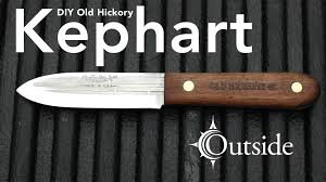hickory kitchen knives kephart knife diy hickory project
