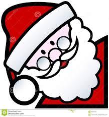 santa cartoon stock vector image of santa christmas 26929425
