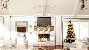 christmas decorations home rustic glam christmas decor home tour part 2