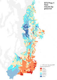 Greater Seattle Area Map by St3 Precinct Map And More