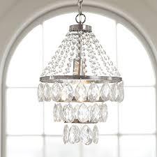 pottery barn teen lighting sparkle drop chandelier pbteen