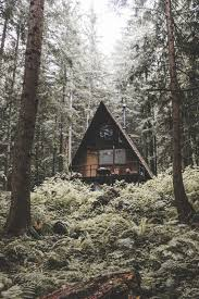 small a frame homes a frame cabin in the woods tiny homes u0026 cabins pinterest