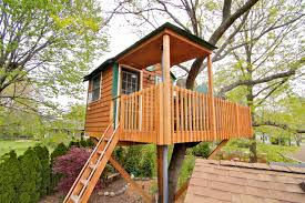Real Treehouse Enchanted Garden Treehouse Amenity Treehouses For Rent In