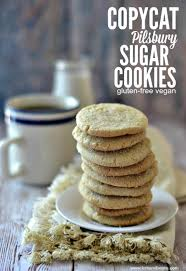 Pillsbury Sugar Cookies Halloween by Copycat Pilsbury Sugar Cookies Gluten Free Vegan