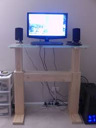 Electric Height Adjustable Computer Desk Electric Height Adjustable Desk Makezilla