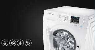 samsung wf80f5e2w4w 8kg ecobubble washing machine