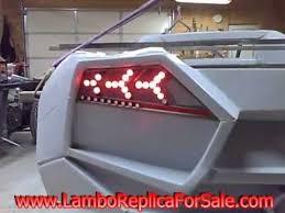 lamborghini aventador rear lights lamborghini reventon replica strobing sequential led light