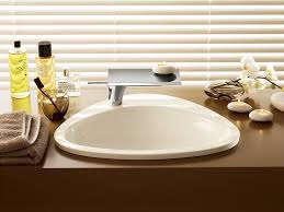 axor 42310000 massaud drop in sink with 1 hole white bathroom