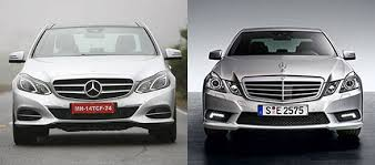 mercedes e class 2013 in pictures the 2012 and 2013 mercedes e class compared overdrive