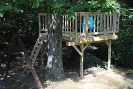 Simple Backyard Tree Houses by 10 Free Tree House Plans