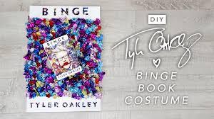 diy tyler oakley binge book costume u2013 halloween 2016 karen kavett