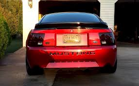 2000 mustang gt rear end laser 2000 ford mustang gt coupe mustangattitude com photo