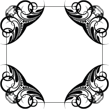 clipart of a frame design element