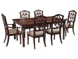 signature design by ashley leahlyn 7 piece rectangular dining