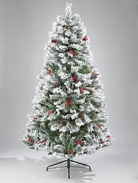 christmas tree with snow staggering christmas tree with snow pre lit green effect liberty