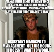 Meme Manager - stupid assistant manager meme guy