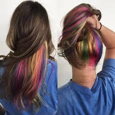25 vibrant rainbow hair ideas u2014 from bright rainbow ombre to