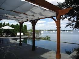 Pergola Canopy Ideas by Decor Teak Wooden Pergola Canopy Design Ideas Plus Stone Pavers