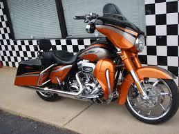 2011 harley davidson flhxse2 cvo street glide inferno orange