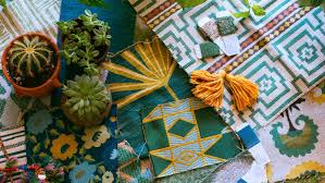 justina blakeney the jungalow s justina blakeney shares her new fabric collection