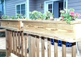 built in planter boxes atop railing dilworth miscellaneous photo