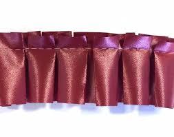 pleated ribbon pleated ribbon lava