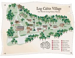 Texas travel log images Log cabin village is a must see across university drive from the jpg