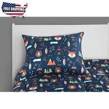 Forest Bedding Sets Mainstays Woodland Safari Boy Bed In A Bag Bedding Set