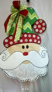 95 best christmas door hanger images on pinterest christmas door