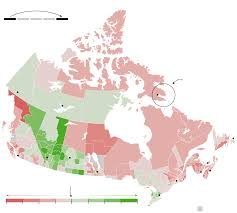 Northern Canada Map by A Tale Of Two Canadas Where You Grow Up Affects Your Income In
