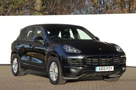 porsche suv 2015 black used porsche cayenne cars for sale motors co uk