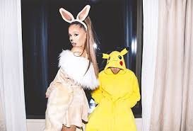 Ariana Grande Costume Halloween Ariana Grande U0026 Mac Miller U0027s Costume Pokemon Perfection