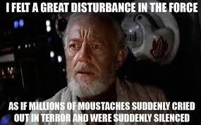 Handlebar Mustache Meme - the upside down handlebar moustache eyebrows meme guy