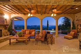 Tuscan Interior Design Tuscan Loggia Mediterranean Patio Los Angeles By Maraya