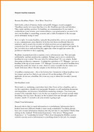 Resume Title For Software Engineer Resume Headline Examples Resume Resume Headline Examples For
