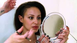 eyebrow tattoo with amelle berrabah sugababes mp4 youtube